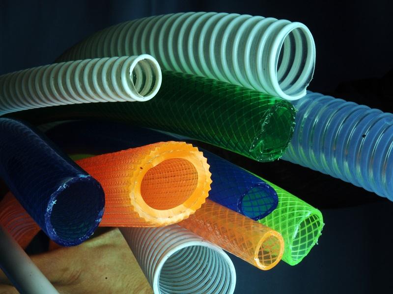 PVC granulate for garden and special hoses